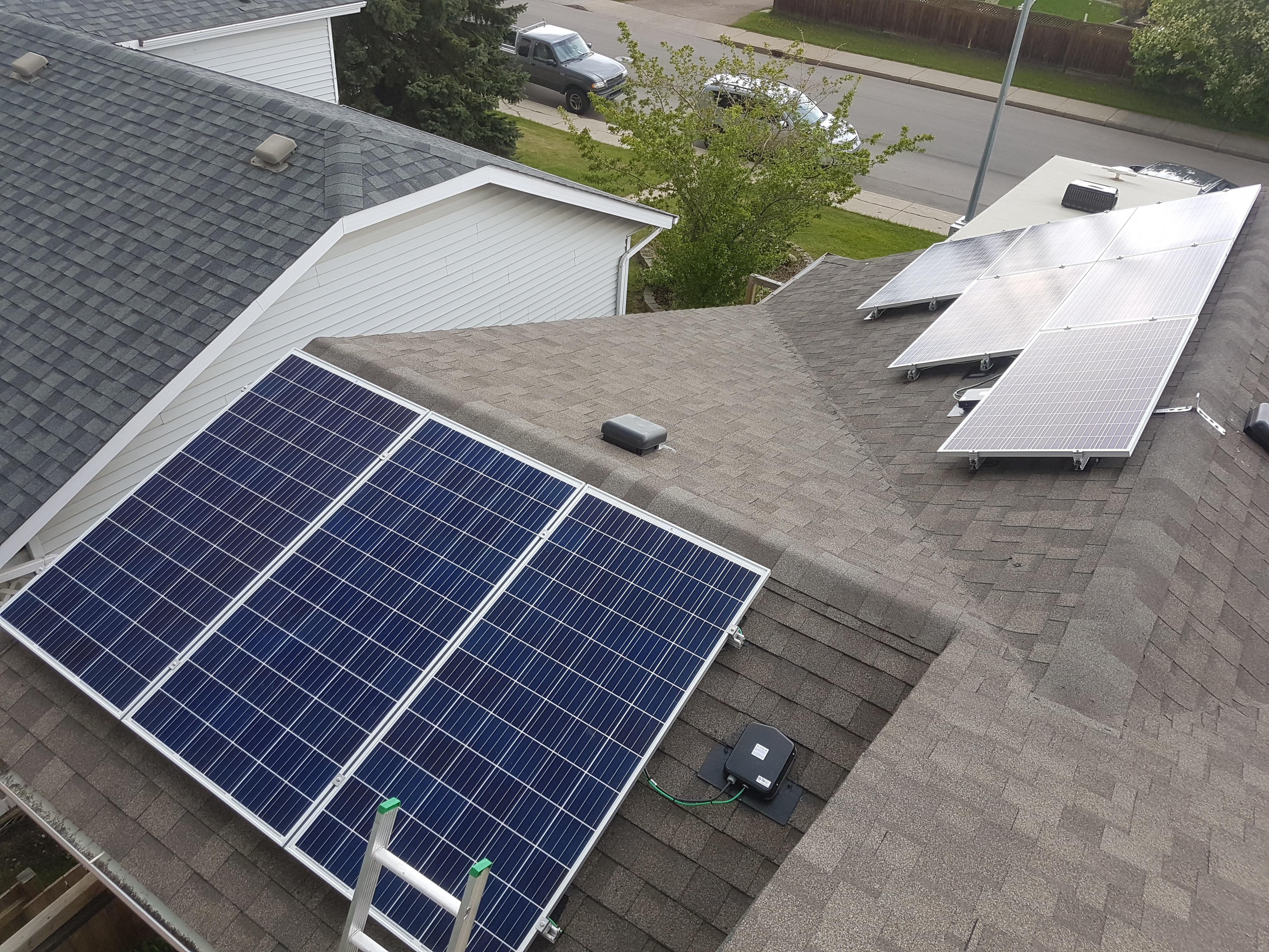 Garage and Kitchen Solar by SolarNinjas