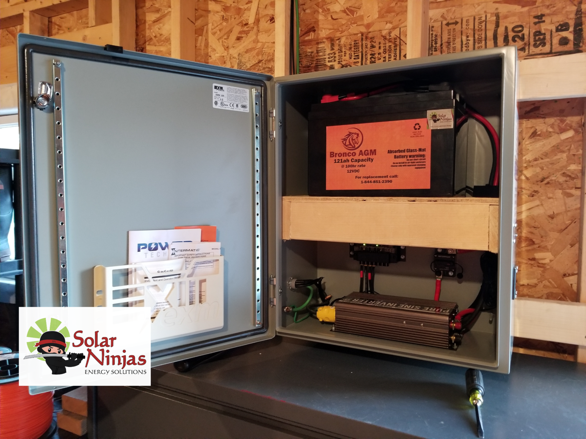 Solar and Inverter wiring box