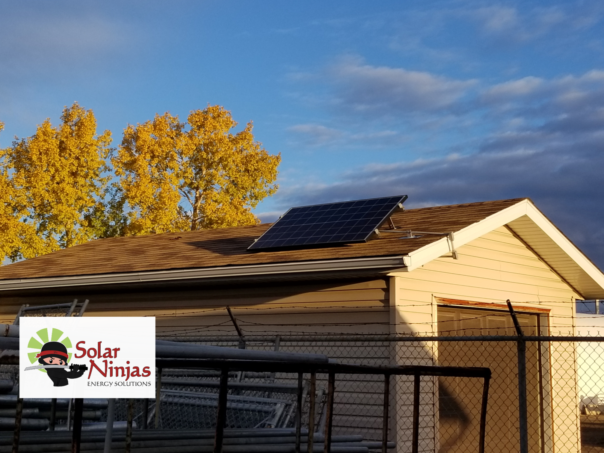 Solar PV Module on roof