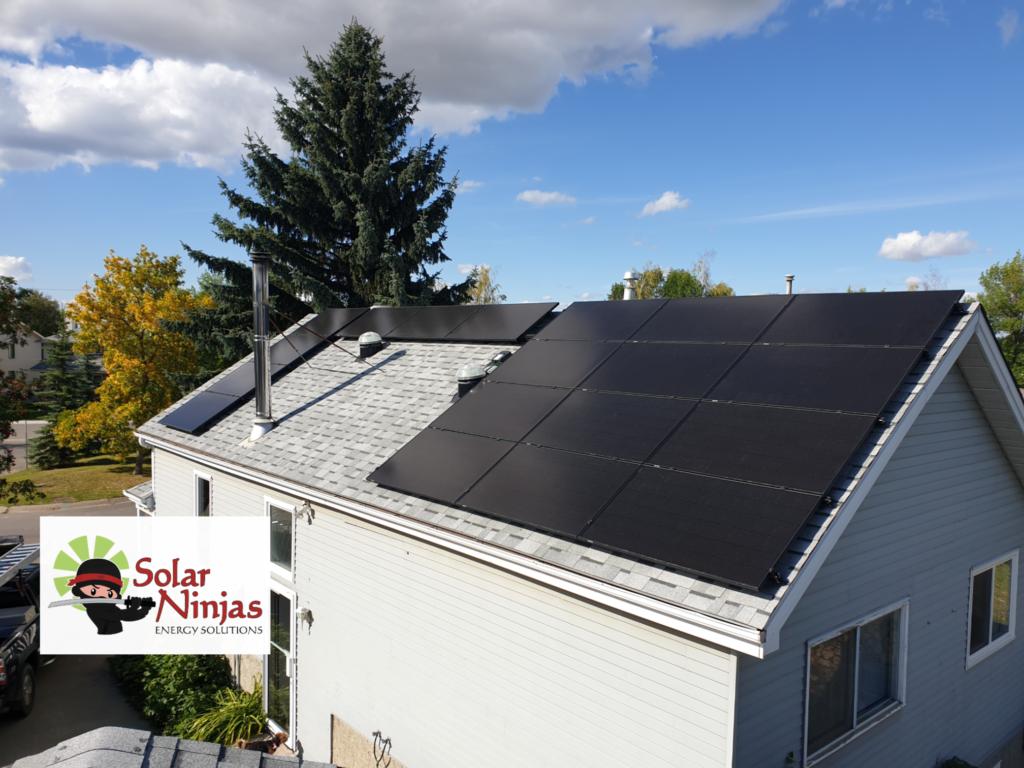 SolarNinjas Custom Solar house
